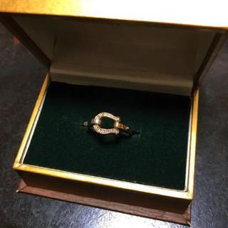 エスオーエスエフピー(S.O.S fp)のレア シンパシーオブソウル オール10k ホースシュー ダイヤリング(リング(指輪))