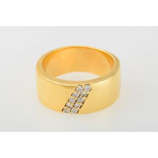 K18 ダイヤモンド リング 品番7-211(リング(指輪))