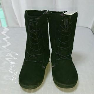 キッズブーツ ブラック 19cm(ブーツ)
