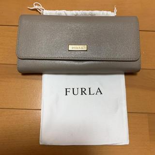 フルラ(Furla)のFURLA長財布 グレー(長財布)