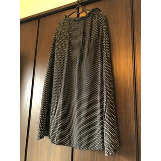 セシルマクビー(CECIL McBEE)のロングスカート ドット柄 Mサイズ(ロングスカート)