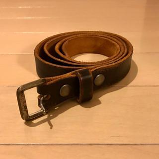 ダブルアールエル(RRL)のRRL Winston Leather Belt レザーベルト イタリア製(ベルト)