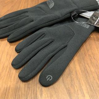 ザノースフェイス(THE NORTH FACE)の新品ノースフェイス グローブ イーチップ ETIP スマホ対応 L (手袋)