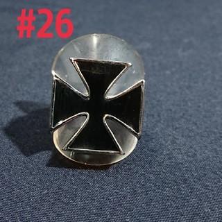 アイアンクロスリング #26(リング(指輪))