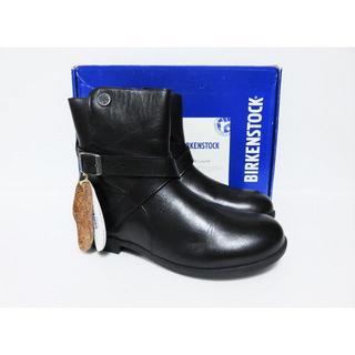 ビルケンシュトック(BIRKENSTOCK)の新品 BIRKENSTOCK COLLINS 37 ナロー レディース ブラック(ブーツ)