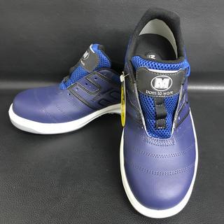 ミドリ安全 - ミドリ安全靴 人工皮革製 A種 普通作業用 26cm 紺 紐靴 スニーカー