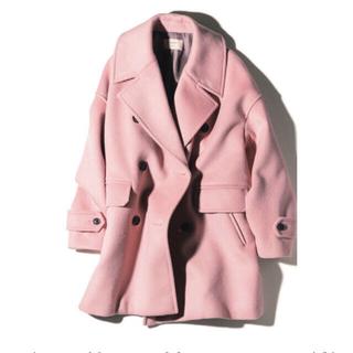 ロンハーマン(Ron Herman)の♡専用♡ ebure エブール ロンハーマン別注コート ピンク♡(ピーコート)