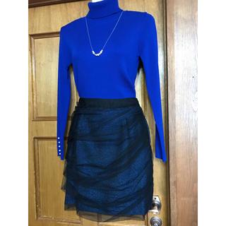 ランバンオンブルー(LANVIN en Bleu)のLANVIN en Bleuスカート新品(ひざ丈スカート)
