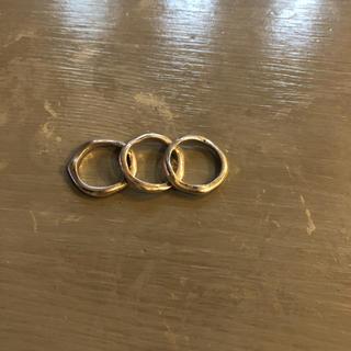 ジルプラットナー jill platner 三連リング(リング(指輪))