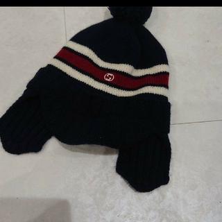 グッチ(Gucci)のGUCCI ニット帽(帽子)