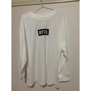 シマムラ(しまむら)のしまむら BTS ロングTシャツ LLサイズ(アイドルグッズ)