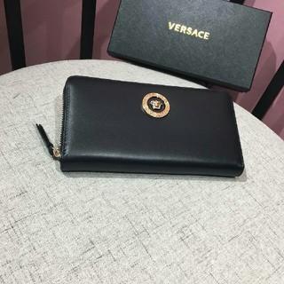 ヴェルサーチ(VERSACE)のヴェルサーチ VERSACE 財布 ロゴ 小銭入れ(長財布)