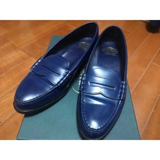 チャーチ(Church's)のチャーチ ローファー ブルー(ローファー/革靴)
