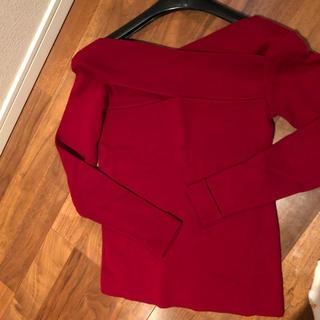 アーモワールカプリス(armoire caprice)の赤 ニット トップス(ニット/セーター)
