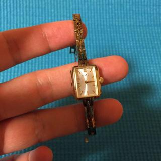 アガット(agete)のagate ゴールド腕時計(腕時計)