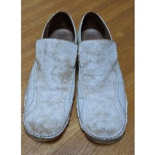 ヒロミチナカノ(HIROMICHI NAKANO)の白 革靴 28.5(その他)