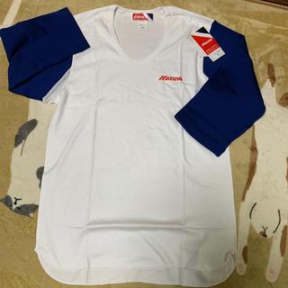 ミズノ(MIZUNO)の新品未使用!MIZUNO七分袖シャツ(Tシャツ/カットソー(七分/長袖))