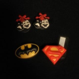 クロックス(crocs)のcrocs  Jibbiz ジビッツ クロックス スーパーマン ・ バットマン (その他)