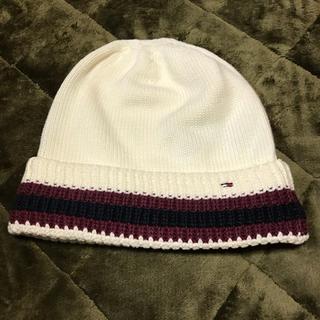 トミーヒルフィガー(TOMMY HILFIGER)のトミーの帽子(ニット帽/ビーニー)