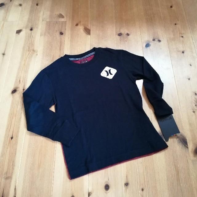 Hurley(ハーレー)の〈6T/110-116〉新品 ハーレー Hurley 長袖 キッズ/ベビー/マタニティのキッズ服 男の子用(90cm~)(Tシャツ/カットソー)の商品写真