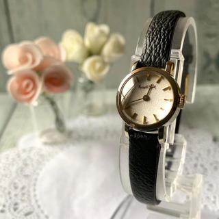 マーガレットハウエル(MARGARET HOWELL)の【電池交換済】MARGARET HOWELL 腕時計 イエローゴールド ラウンド(腕時計)