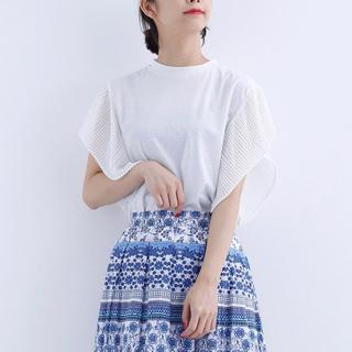 新品 merlot カットソー 白 ブランド Tシャツ ニット 秋冬 韓国 安い