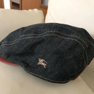 バーバリーブルーレーベル(BURBERRY BLUE LABEL)のバーバリーブルーレーベル ベレー帽 ハンチング(ハンチング/ベレー帽)