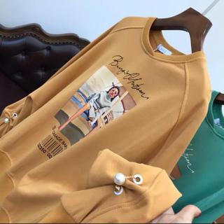 ザラ(ZARA)の新品未着用♡切り替えシャツ♡韓国ファッション売れ切れ希望‼️一点のみ‼️(トレーナー/スウェット)