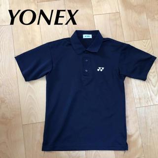 ヨネックス(YONEX)の★ YONEX ヨネックス メンズ 半袖 ポロシャツ 紺 S レディース M に(ポロシャツ)