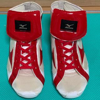 ミズノ(MIZUNO)のミズノ ボクシングシューズ 27センチ(ボクシング)