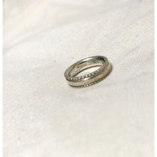 アガット(agete)のアガット ピンキーリング silver #4(リング(指輪))