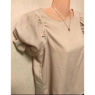 しまむら - 【しまむら】Sorridere ふんわり丸袖キュートなお姫さまデザインカットソー