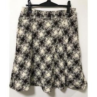 ニジュウサンク(23区)の23区 大きいサイズ スカート(ひざ丈スカート)