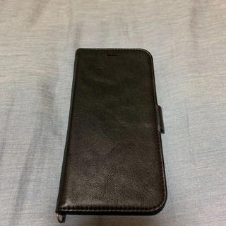 エレコム(ELECOM)のiPhoneXR用手帳型レザーケース!良品!!(iPhoneケース)