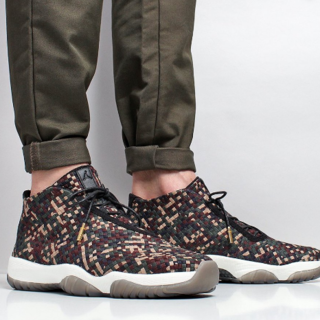 ナイキ(NIKE)のNIKE AIR JORDAN FUTURE PREMIUM DARK ARMY(スニーカー)