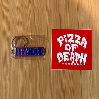 HIGH!STANDARD - pizza of death  ステッカー