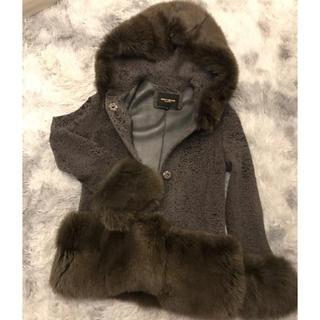 ミュウミュウ(miumiu)のNORTHBEACH  高級毛皮コート ラムファー&フォックス(毛皮/ファーコート)