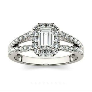 輝き モアサナイト リング 指輪(リング(指輪))