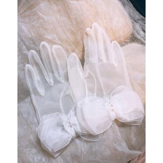 タカミ(TAKAMI)のTAKAMI BRIDAL ショートグローブ(手袋)