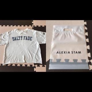 アリシアスタン(ALEXIA STAM)のアリシアスタン 白Tシャツ(Tシャツ(半袖/袖なし))