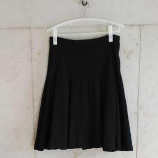 アンテプリマ(ANTEPRIMA)のお値下げ アンテプリマ ギャザー スカート 黒(ひざ丈スカート)