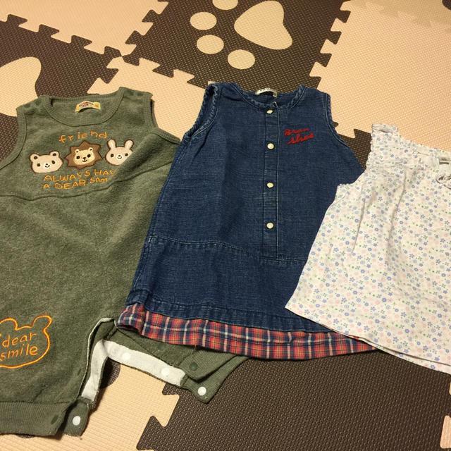baby服セット キッズ/ベビー/マタニティのベビー服(~85cm)(ワンピース)の商品写真