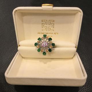 指輪 Shimomura Kei Ashiya K18 エメラルド他 未使用(リング(指輪))