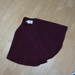 エイチアンドエム(H&M)の新品H&Mジャケットポンチョエンジ色SML(ポンチョ)
