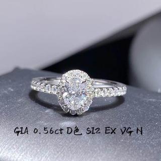 giaホワイトダイヤモンドリング(リング(指輪))