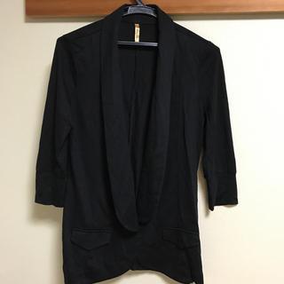 ロイヤルパーティー(ROYAL PARTY)のトレーナー素材のジャケット 七分袖(その他)