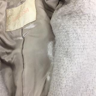 リズリサ(LIZ LISA)の袖口レースアップコクーンコート ブルー LIZ LISA 新品 未使用 送料込み(その他)