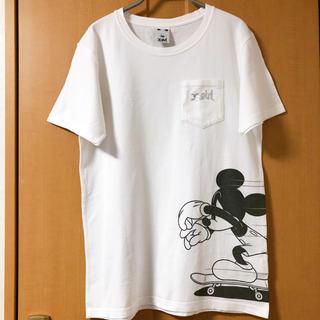 エックスガール(X-girl)のX-girl×Disney SKATEBOARD MICKEY TEE(Tシャツ(半袖/袖なし))