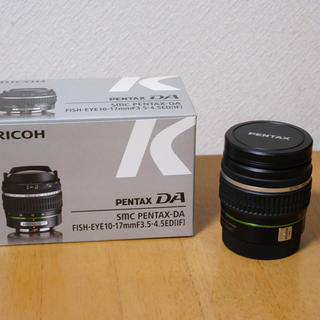 PENTAX - Pentax DA fish-eye 10-17mm F3.5-4.5ED