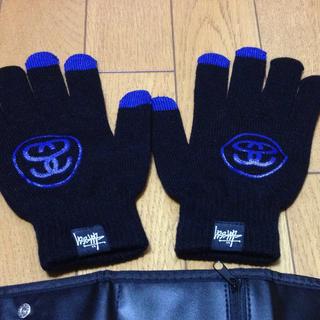 ステューシー(STUSSY)のRailway様専用 ステューシー 手袋(手袋)